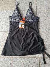 Damen Badeanzug schwarz weiß Größe 44 / XL