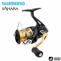 Shimano Sahara Spinning Reel 4+1BB Light Weight Fishing Reel, 500-5000 Series