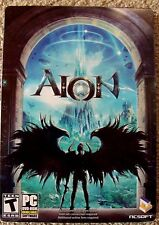 Aion Limited Collector's Edition  PC Game Tin Metal Case COMPLETE, great deal.