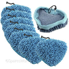 6 x Coral Covers Pads for PIFCO 6 in 1 10 in 1 12 in 1 PS001 Steam Cleaner Mop