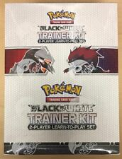 Pokemon Black & White Trainer Kit 2 Player Learn to Play Set Display Box - QTY