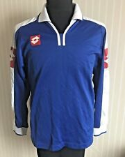 VINTAGE LOTTO 90's FOOTBALL SHIRT MEN'S SIZE M SOCCER JERSEY LONG SLEEVED ITALY