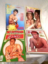 5-The Ring Magazines w/Thomas Hears on Front Cover 2-3/81,1/82,3/85,9/81