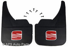 Universal Car Mudflaps Front Rear Seat Logo Alhambra Altea Arosa Mud Flap Guard