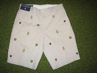 """Men's $95. POLO-RALPH LAUREN Beige CREST Shorts (29)  FLAT FRONT """"PROSPECT"""""""