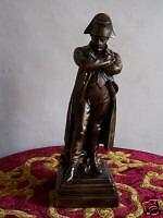 Statue Napoléon Général Bonaparte à Austerlitz bronze