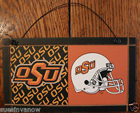 Oklahoma State Cowboys OSU University College Licensed Wooden Sign Sport Fan C