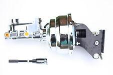 """67-72 Chevy Truck 8""""  Chrome Power Brake Booster Kit Chrome Adj Prop Valve"""