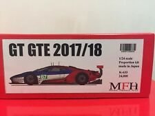 1/24 Model Factory Hiro MFH Ford GT GTE 2017 2018 LeMans LM Studio27 profil24