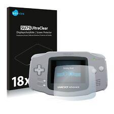 18x Savvies Pellicola Protettiva per Nintendo Gameboy Advance GBA Proteggi Scher