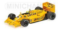 MINICHAMPS Re Issue AYRTON SENNA F1 model cars LOTUS McLAREN WILLIAMS 85-94 1:43