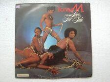 BONEY M LOVE FOR SALE atlantic RARE LP RECORD vinyl  INDIA INDIAN ex