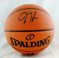 f4cfde70f83 James Harden Autographed NBA Spalding Basketball - Beckett Auth  Black