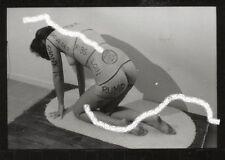 30 x Vintage Kontakt Foto Photo Aktions Kunst 1960 sexy nackt Busen Akt Model V2