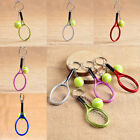 New Unisexc Mini Metal 3D Tennis Racket Ball Key Chain Keyring Accessories Gift