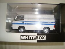 NEW MINIATURE UTILITAIRE MERCEDES MB 100 SERVICE MERCEDES BENZ 1/43 WHITEBOX