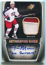 2011-12 SPx Spectrum 175 John Moore Rookie Patch Auto 5/25 Go Rangers