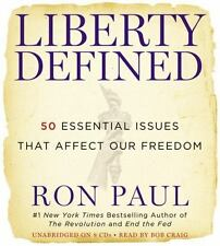 Liberty Defined: 50 Essential Issues That Affect Our Freedom  - Audiobook