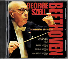 BEETHOVEN symphony no.3 & overtures GEORGE SZELL CLEVELAND ORCH SACD SUPER AUDIO