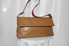 Jane Shilton Tan Leather Handbag Shoulder Bag Good Cond ALL LEATHER