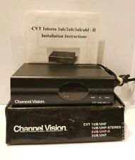 CHANNEL VISION CVT 2UB/UHF - II RF Video Modulator  New in Open Box