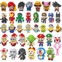 LINKAO Anime Superhero Mini Nano Blocks Baukästen Bausteine Spielzeueg Geschenk