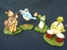 4 Woodland Animals Quartet Figurines