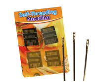 60Pcs/set Thick Big Eye Sewing Self-Threading Needles Embroidery Hand Sewing Kit