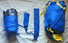 COLEMAN KIDS  Overnight Combo w sleeping bag, tent, backpack (Pre-Owned)