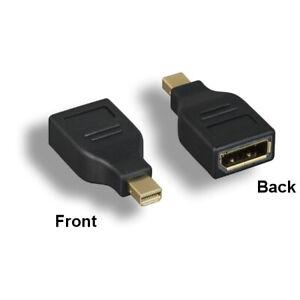 Kentek Mini DisplayPort 1.2a to DisplayPort M/F Adapter Thunderbolt 2 for PC MAC