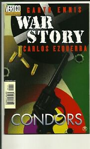 VERTIGO COMICS WAR STORY CONDORS! NM!