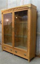 2 Door Display Cabinet, Glass Doors, Curio Cabinet, Display Case, Showcase