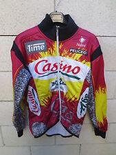 Veste cycliste CASINO AG2R Time Nalini Peugeot cycling jacket vintage 3 M Tour
