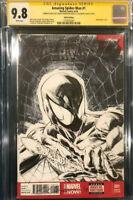 SHELBY ROBERTSON ORIGINAL DOUBLE Sketch Art CGC 9.8 Signed Spider-Man Venom CBCS