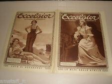 EXCELSIOR=1930/33=MARIA RENZA MELATO ? =GRACE MOORE=NANCY CARROLL=COVER MAGAZINE