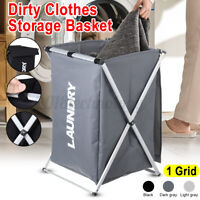 Laundry Basket Bin 1 Sections Large Dirty Clothes Hamper Sorter Toy Storage