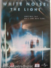 White Noise: The Light (DVD, 2007) NEW SEALED Region 2 PAL