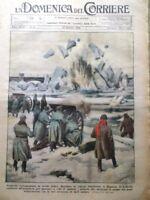 La Domenica del Corriere 10 Gennaio 1926 Mussolini Chamberlain Fiera Milano Cina