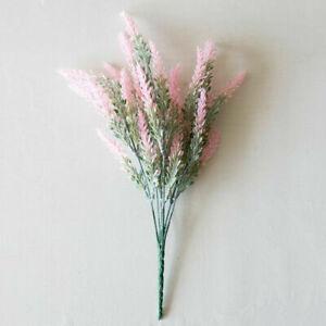 1Pcs Romantic Provence Lavender Plastic Wedding Decor Artificial Flower Plants