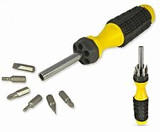 """2 BRAND NEW 8"""" LONG NEW 6 IN 1 SCREWDRIVER SETS WHOLESALE , FREE SHIPPING"""