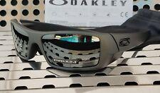 New Oakley GASCAN 9014-3560 Sunglasses Matte Steel w/ Prizm Black Polarized