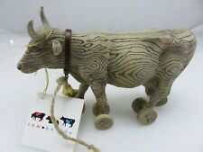 Westlands Cow Parade Model 9130 PULL TOY Figurine With Original Box
