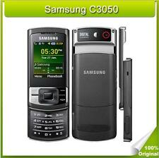 "Desbloqueado Samsung C3050 C3050c Slider 2G teléfono celular Bluetooth 2MP 2.0"" GSM móvil"