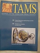 TAMS Journal Book - Sept/Oct 2010  - Medals for a Liberator