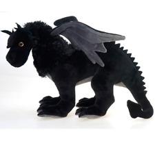 19 Inch Black Dragon Plush Stuffed Animal by Fiesta