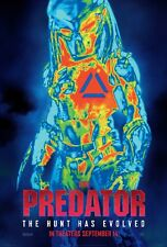 The Predator 2018 Movie Poster (24x36)- Boyd Holbrook, Jacob Tremblay, Keegan v3