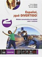 ESPANOL, QUE' DIVERTIDO! VOL.2 con DVD - C.RAMOS e M.SANTOS - DE AGOSTINI