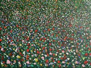 "Original Painting ""Wild Flower Meadow'"