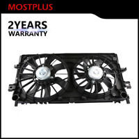 Dual Radiator Cooling Fan Assembly For Chevy Impala Pontiac Grand Prix Buick