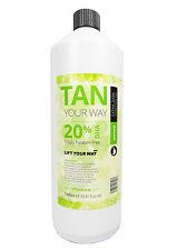 Spray Tan Solution - 1 Litre Spray Fake Tanning. Hvlp & Airbrush